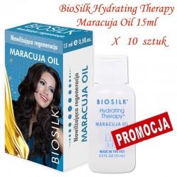 Zestaw 10x15ml Biosilk Hydrating Therapy Olejek Marakuja
