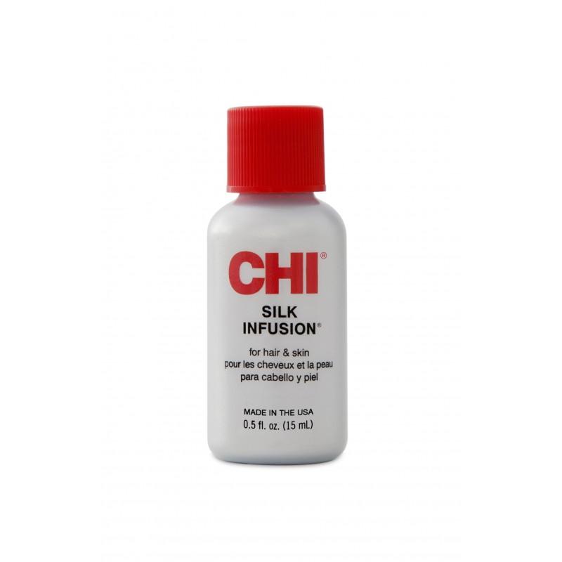 CHI Silk Infusion Olejek 15ml / Naturalny jedwab do włosów