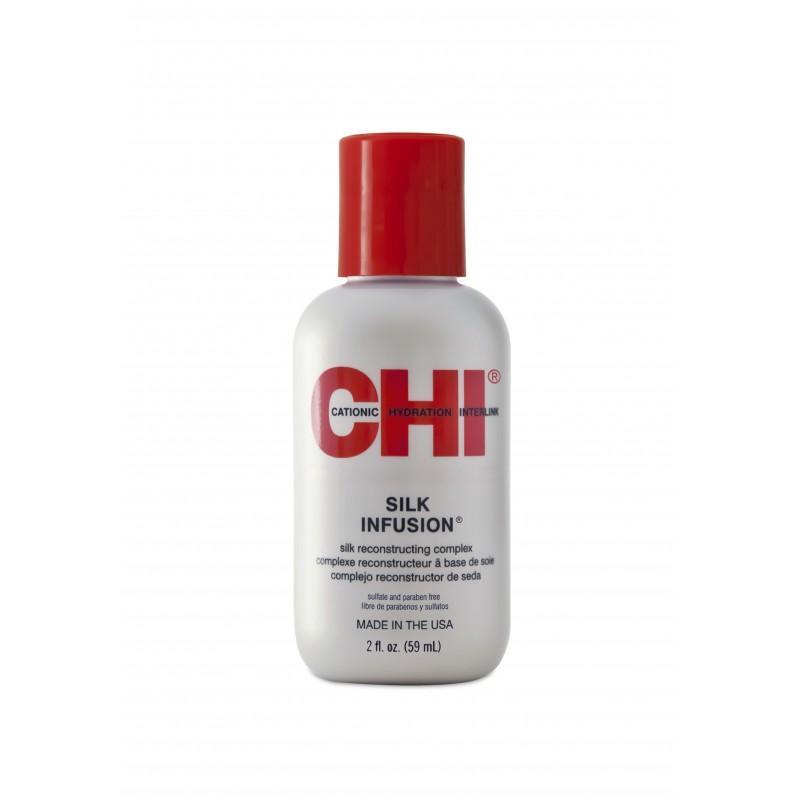 CHI Silk Infusion Olejek 59 ml / Naturalny jedwab do włosów