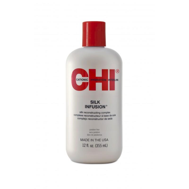CHI Silk Infusion Olejek 355 ml / Naturalny jedwab do włosów