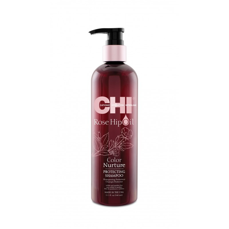 CHI Rose Hip Oil Szampon ochronny 340ml