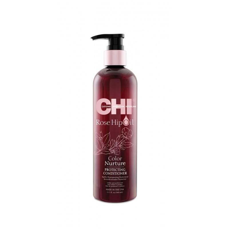 CHI Rose Hip Oil Odżywka ochronna 340ml