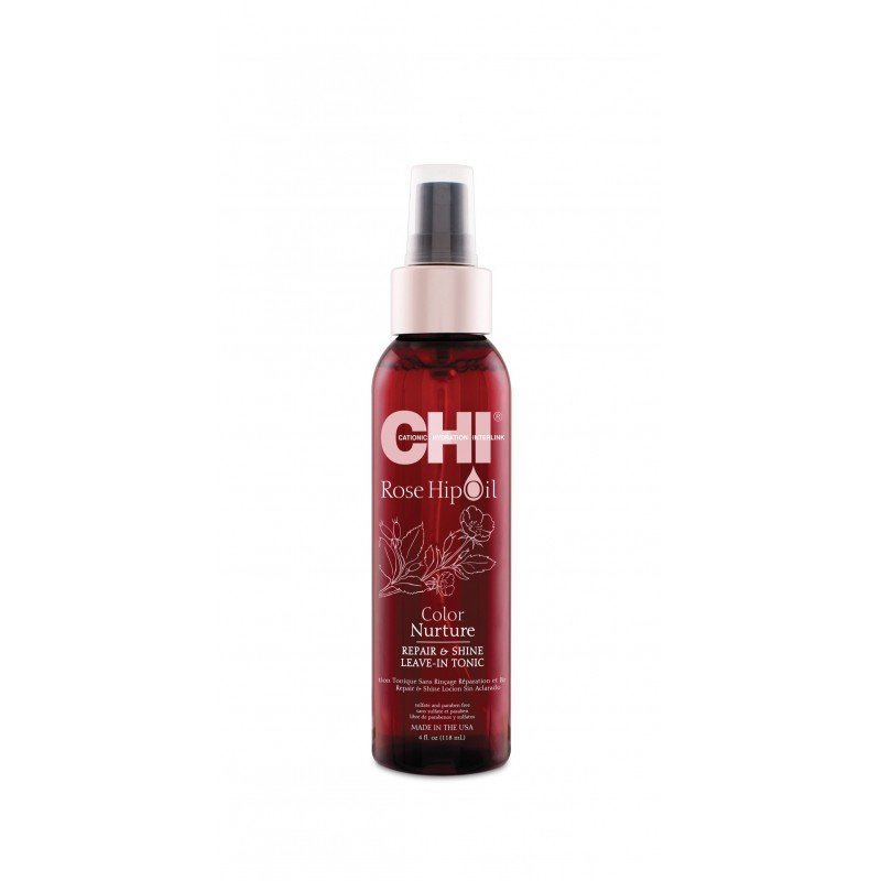 CHI Rose Hip Oil Witaminowy tonik 118ml / Leave-In Tonic