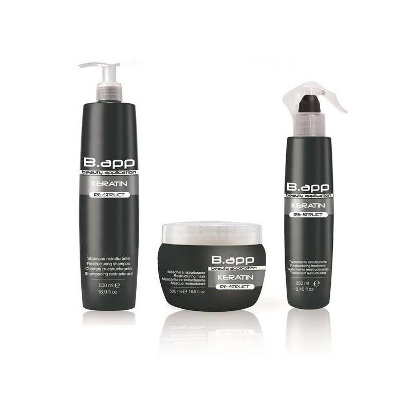Zestaw B.app (szampon, odżywka scalająca, maska) PROMOCJA!