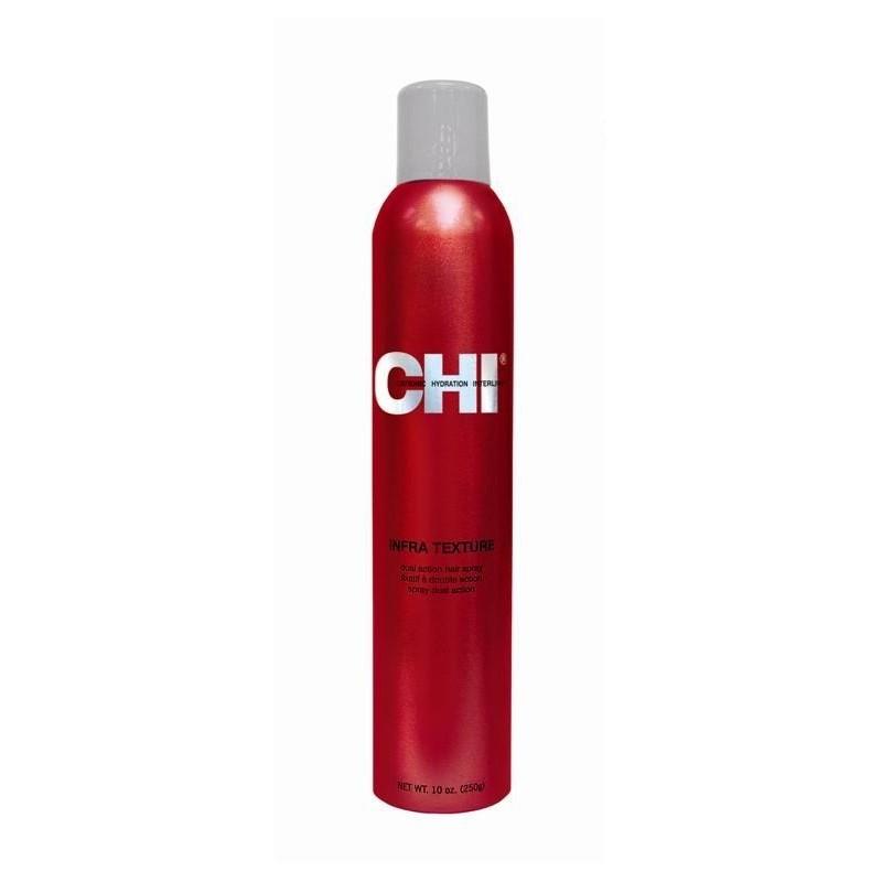 CHI Infra Texture Lakier nabłyszczający, średnio usztywniający 250 g / Dual Action Hair Spray