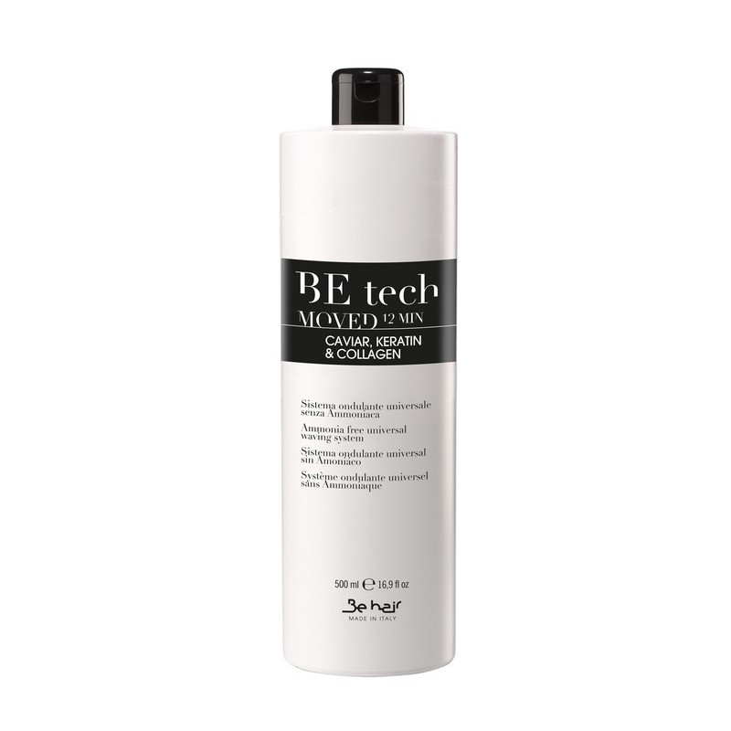 BE Tech Trwała ondulacja bez amoniaku / Moved 12min ph 8.5 500ml / Universal Waving System Ammonia Free