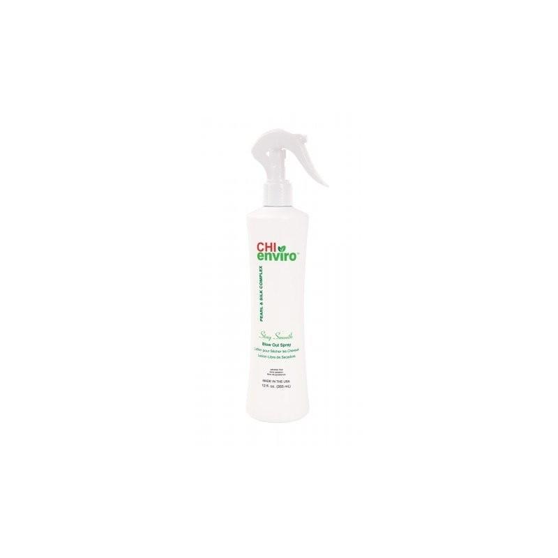 CHI Enviro Spray utrzymujący efekt wygładzenia 355 ml / Stay Smooth Blow Out Spray