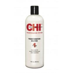 CHI Transformation Solution System Faza 1 Płyn prostujący do dziewiczych i opornych włosów (czerwony)