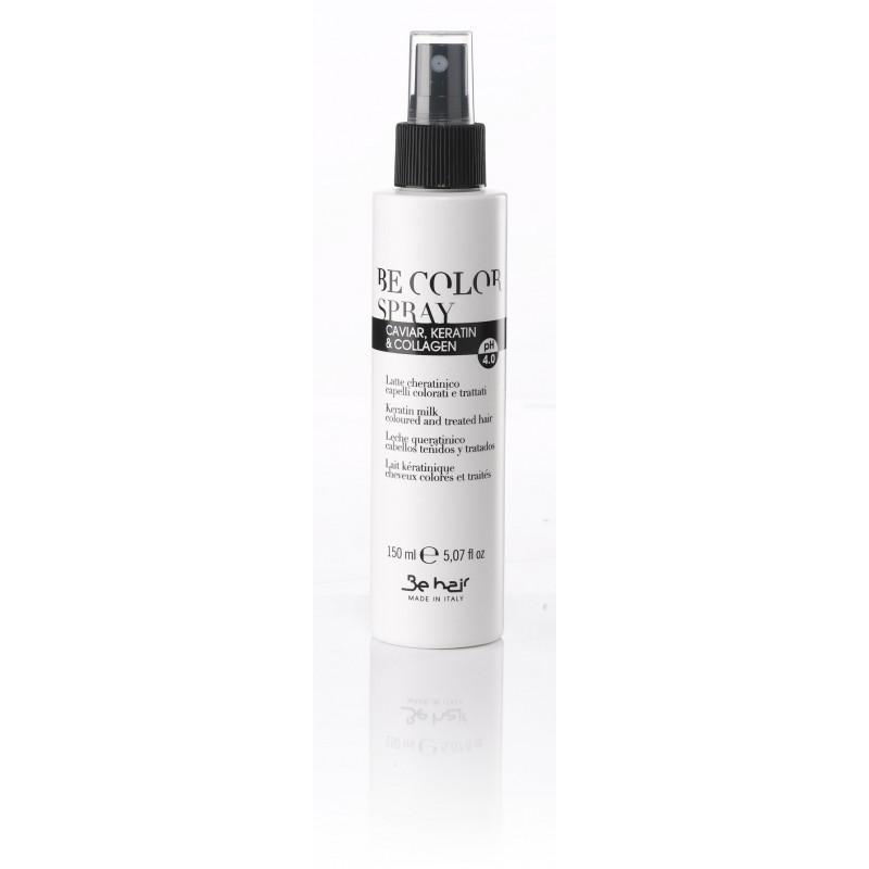 Be Color Keratin Milk Spray 150ml / Mleczko z keratyną dla włosów farbowanych i traktowanych chemicznie