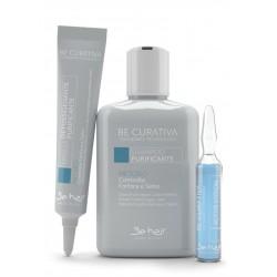Be Curativa Kuracja przeciwłupieżowa - oczyszczająca (niebieska)