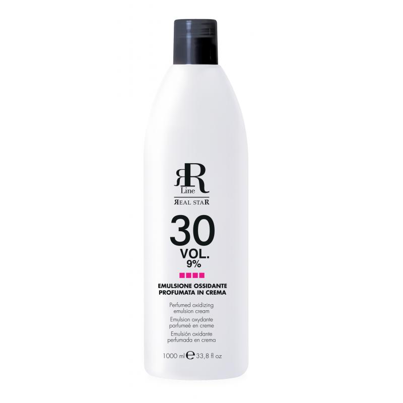 RR Line Perfumowany kremowy oksydant 30 vol (9%) - 1000 ml