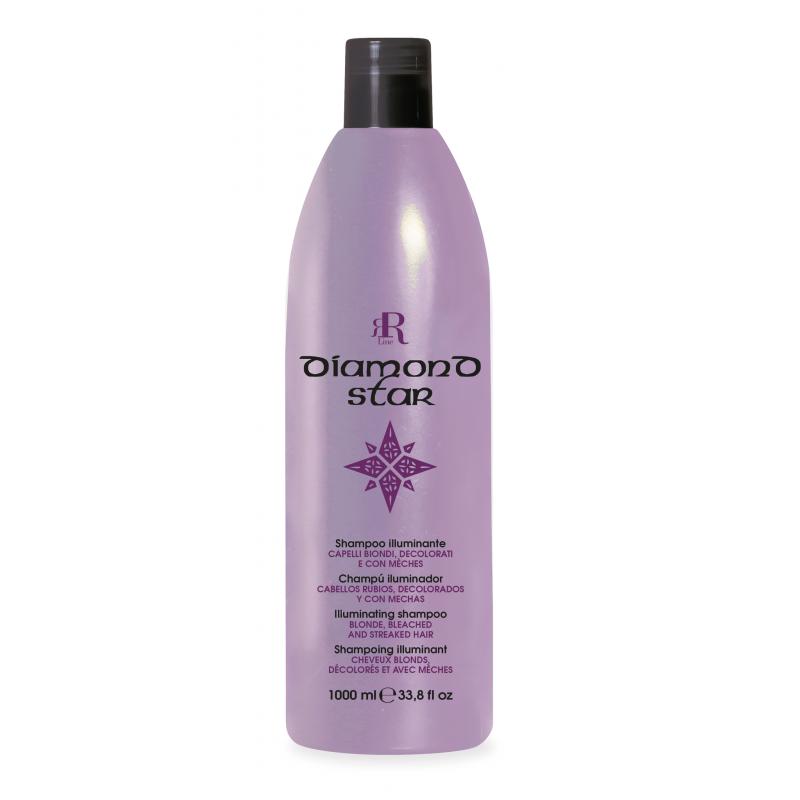 RR Diamond Star Szampon rozświetlający do włosów blond 1000 ml
