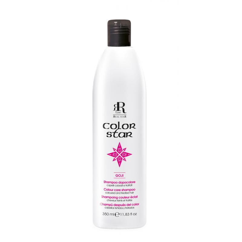 RR Color Star Szampon do włosów farbowanych z Goji 350 ml