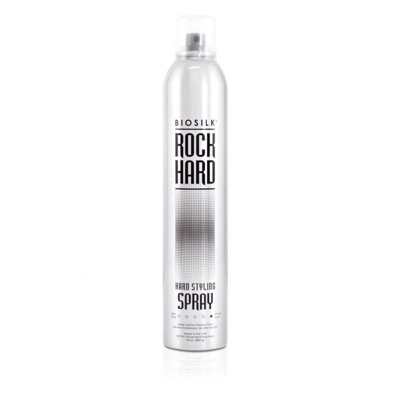 Biosilk Rock Hard Ekstra mocny lakier / Styling Spray 284g