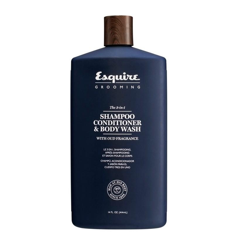 Esquire 3 w 1 Szampon, odżywka, żel pod prysznic 414 ml