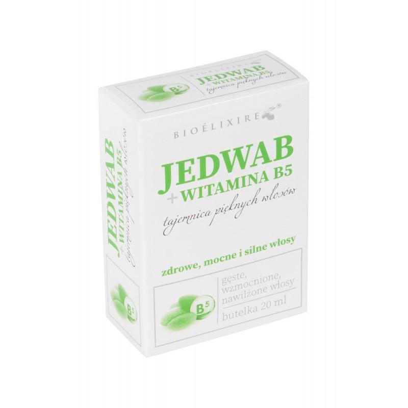 Bioelixire Jedwab do włosów z Witaminą B5 20 ml