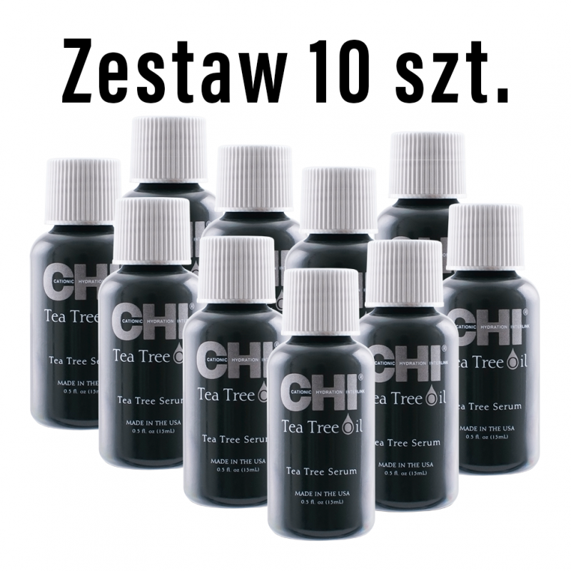 Zestaw 10 x 15ml Olejek CHI Tea Tree Oil