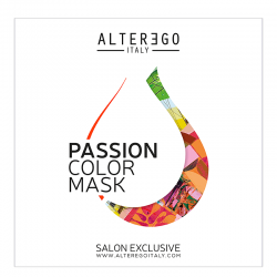 Alter Ego Passion Color Mask Karta kolorów | Paleta Passion Color Mask (16 odcieni)