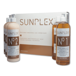 SUNPLEX 5 x 500ml (zestaw na 100 zabiegów)