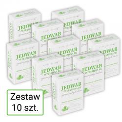 Zestaw 10x20ml Bioelixire Jedwab do włosów z Witaminą B5