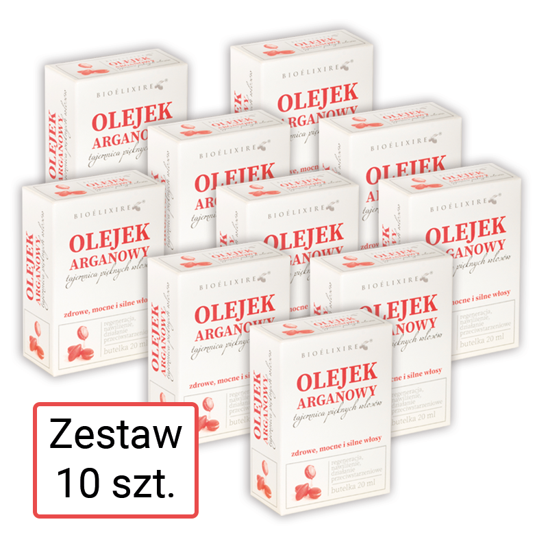 Zestaw 10 x 20 ml Bioelixire Argan Oil Serum