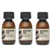 Zestaw 3x Dear Beard AMBER Olejek bursztynowy do pielęgnacji brody 50 ml