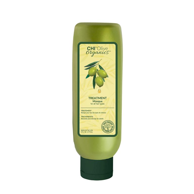 CHI Olive Organics Maska nawilżająca z oliwą z oliwek i jedwabiem 177 ml