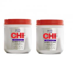 Zestaw 2x CHI 44 Blondest Blonde Powder Lightener 907 g / Proszek rozjaśniający