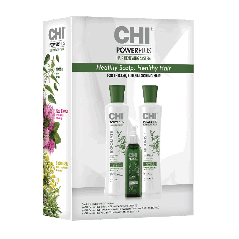 CHI Power Plus KIT Zestaw