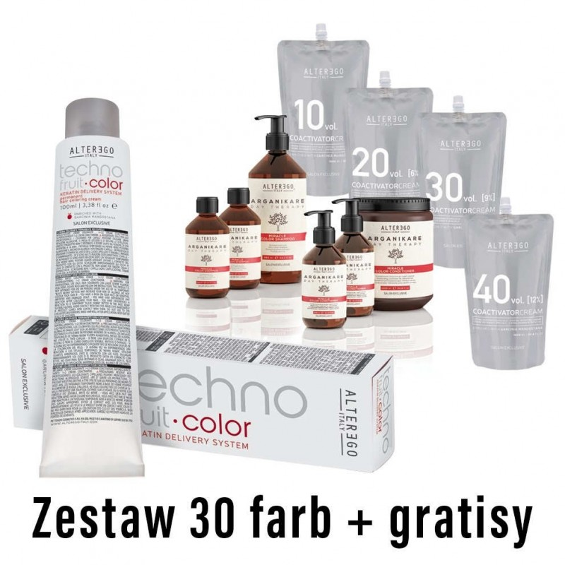 Zestaw 30 farb Technofruit Color + gratisy