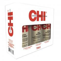 CHI Infra TRIO 177 ml (Szampon, Odżywka, Jedwab)