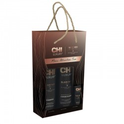 CHI Luxury Mane Attraction Trio (Szampon 739 ml + Odżywka 739 ml + Olejek 89 ml)