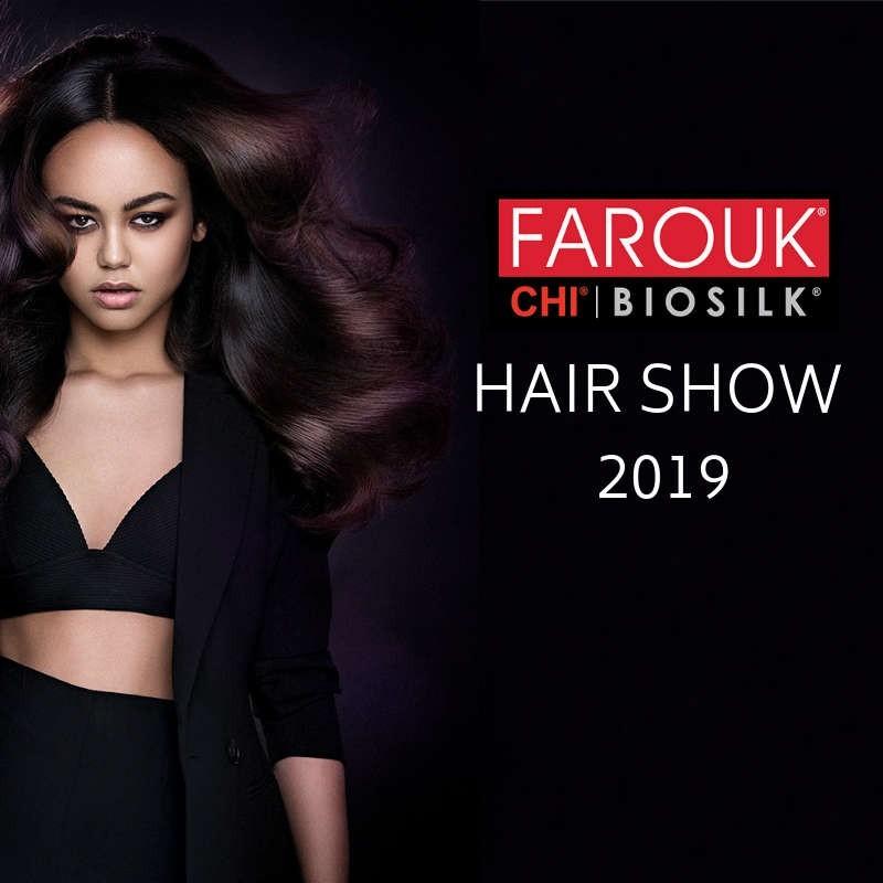 Szczecin Bilet Pokaz Farouk Hair Show 2019