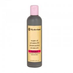 Mysterium Maska regenerująca z olejkiem arganowym i witaminą B5 300 ml (czerwona)