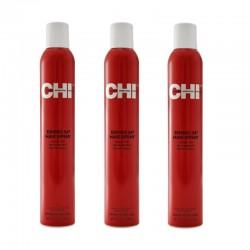 Zestaw 3x CHI Enviro 54 Natural Lakier elastyczny, nieobciążający 340 g