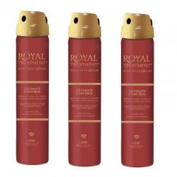 Zestaw 3x CHI Royal Treatment Ultimate Control Lakier 74 g