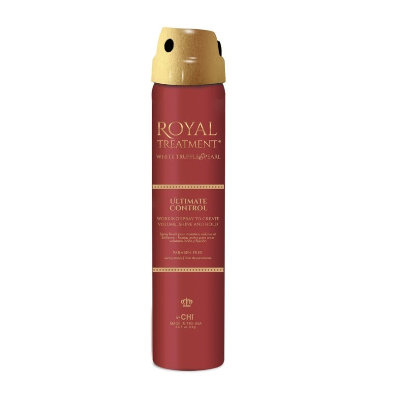 New CHI Royal Treatment Ultimate Control Hair Spray / Lakier 74g