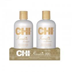 CHI Keratin DUO (Szampon keratynowy 355 ml + Odżywka keratynowa 355 ml)