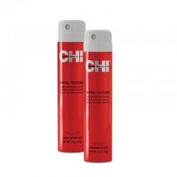 Zestaw 2x CHI Infra Texture Lakier nabłyszczający, średnio usztywniający 74 g / Dual Action Hair Spray