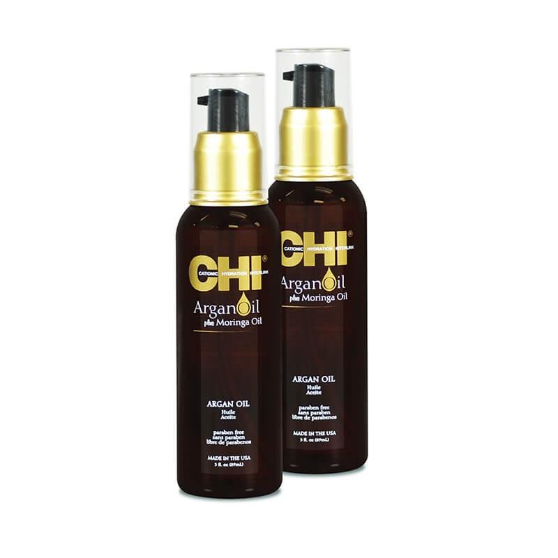 Zestaw 2x CHI Argan Oil Olejek arganowy 89 ml