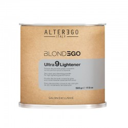 BlondEgo Ultra 9 Lightener Powder Szary bezpyłowy proszek 500 g