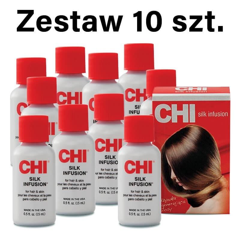 Zestaw 10 x 15 ml Jedwab CHI Silk Infusion