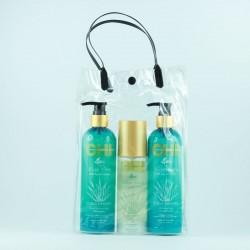 Zestaw świąteczny CHI Aloe Vera (szampon 340 ml, odżywka 340 ml, żel 147 ml)
