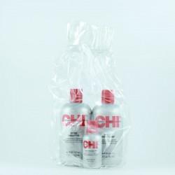 Zestaw świąteczny CHI Infra (szampon 355 ml, odżywka 355 ml, jedwab 59 ml)