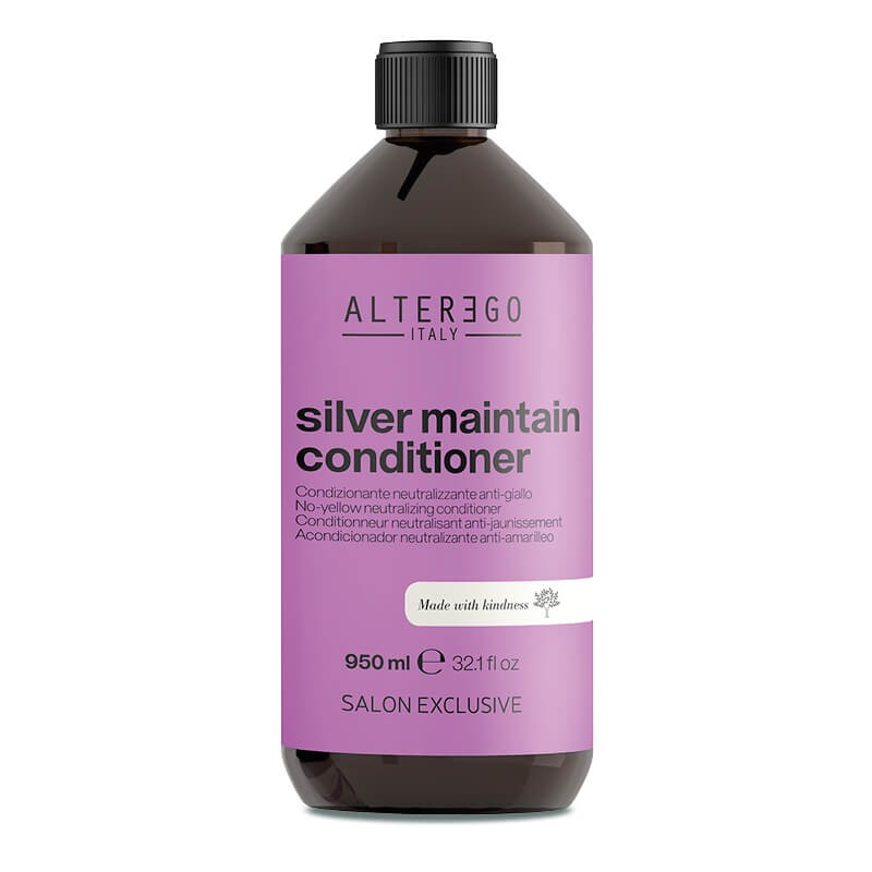 Alter Ego Silver Maintain Odżywka przeciwdziałająca żółtym tonom 950 ml