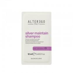 Alter Ego Silver Maintain Saszetka Szampon przeciwdziałający żółtym tonom 12 ml