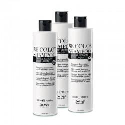 Zestaw 3x Szampon Be Color do włosów farbowanych 300 ml
