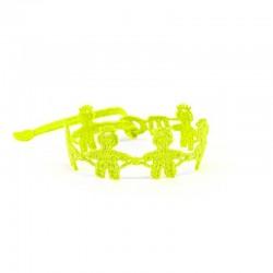 Bransoletka Chłopiec żółty fluo