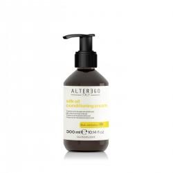 Alter Ego Silk Oil Wygładzająca odżywka w kremie nadająca efekt jedwabistych włosów 300 ml