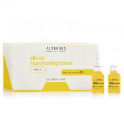 Alter Ego Silk Oil Illuminating Lotion Rozświetlająca kuracja bez spłukiwania 12x10ml